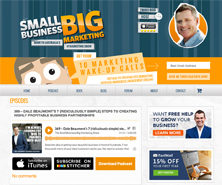 Dale Beaumont has been featured in Small Business Big Marketing