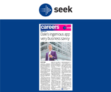 Dale has been featured in Careers by Seek