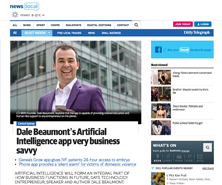 Dale has been featured in Daily Telegraph